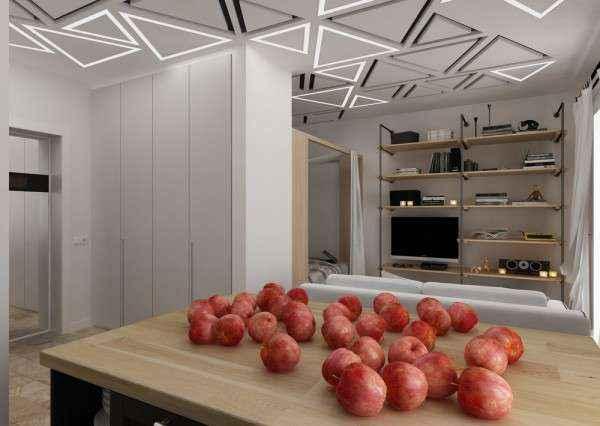 image2-56   Дизайн квартиры площадью 29 квадратных метров  в стиле минимализм