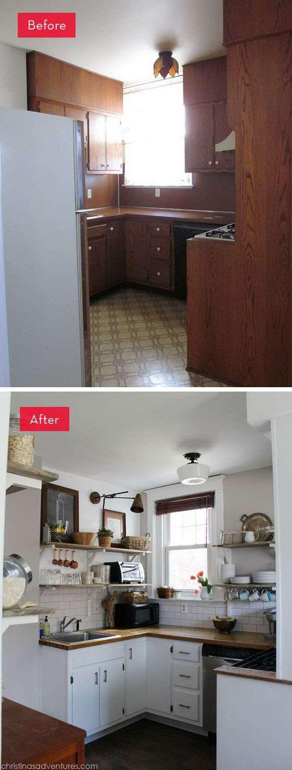 image20-8 | 25 идей переделки старой кухонной мебели