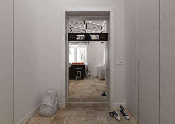 image3-56   Дизайн квартиры площадью 29 квадратных метров  в стиле минимализм