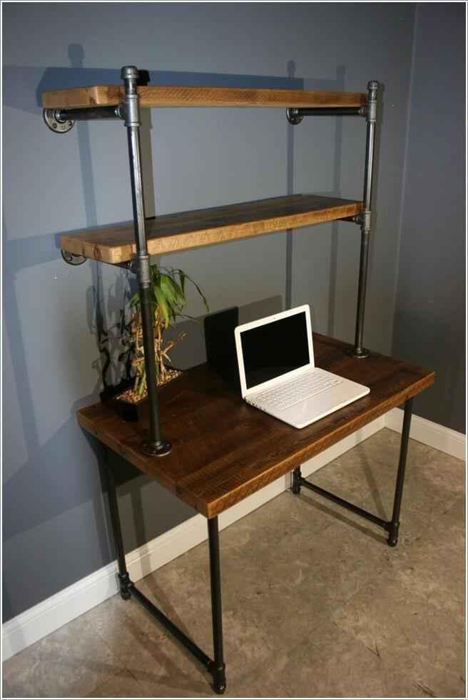 image4-16 | 10 компьютерных столов из подручных средств