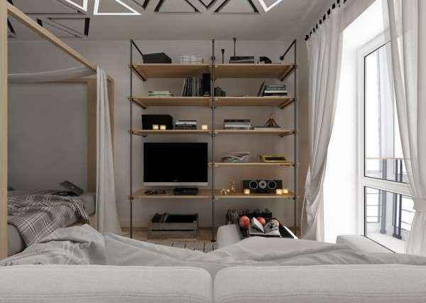 image4-55   Дизайн квартиры площадью 29 квадратных метров  в стиле минимализм