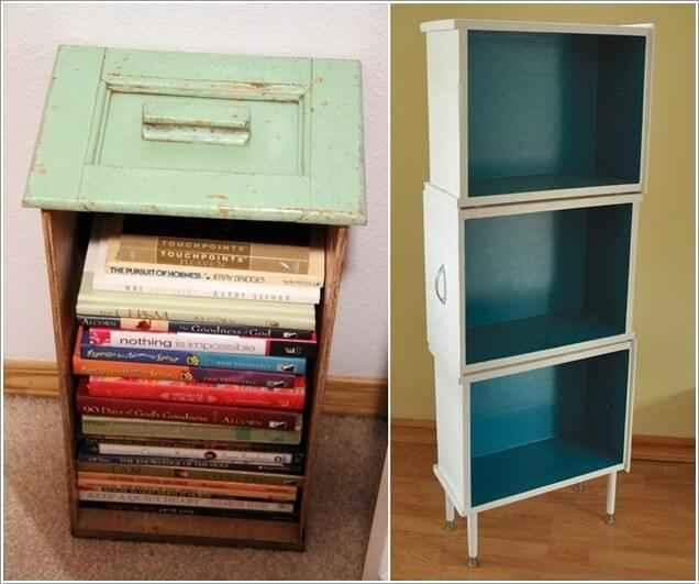 image8-20 | 10 идей книжных шкафов из старья