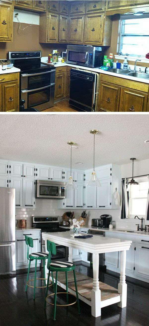 image9-68 | 25 идей переделки старой кухонной мебели