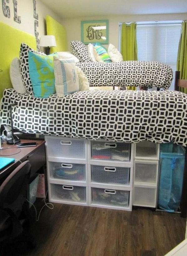 image13-12 | 20 идей хранения под кроватью