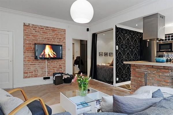 image18-15   30 лучших идей дизайна небольших квартир