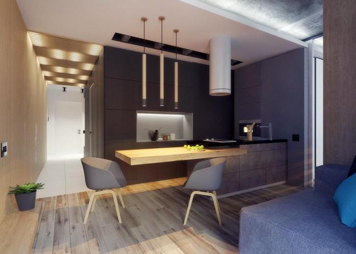 image2-12 | Дизайн интерьера небольшой квартиры для молодой пары