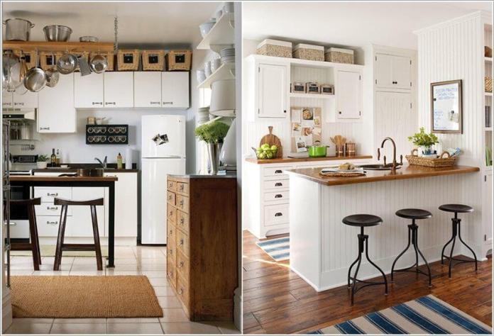 image3-56   10 способов использования пространства над кухонными шкафами