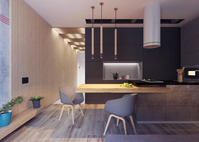 image5-12 | Дизайн интерьера небольшой квартиры для молодой пары