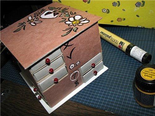 image5-33 | Что можно сделать из спичечных коробков