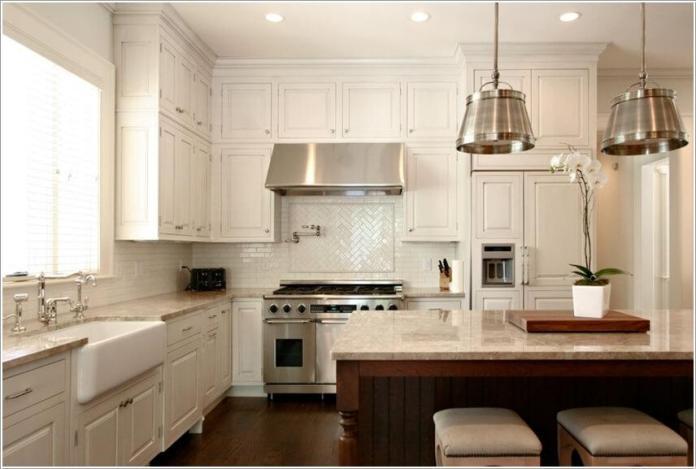 image6-56   10 способов использования пространства над кухонными шкафами