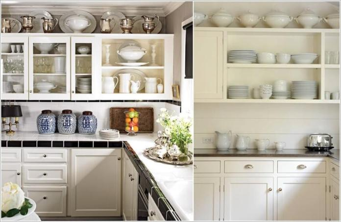 image9-50   10 способов использования пространства над кухонными шкафами