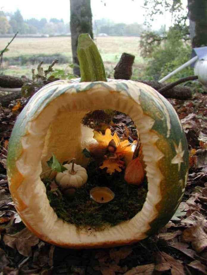 image1-51 | Очаровательные домики фей из тыквы
