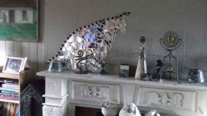 image10-37   Декор из разбитого зеркала