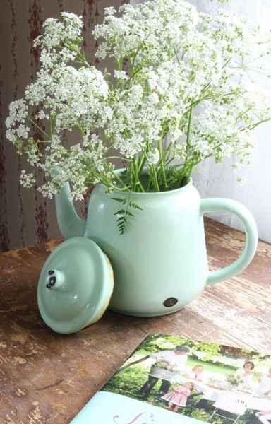 image13-36 | Чудесные цветочные горшки из старых чайников