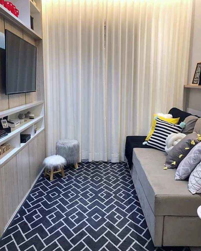 image14-21 | 25 идей дизайна маленькой гостиной