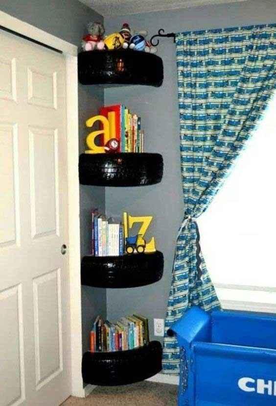 image20-12 | 25 идей использования шин для украшения интерьера