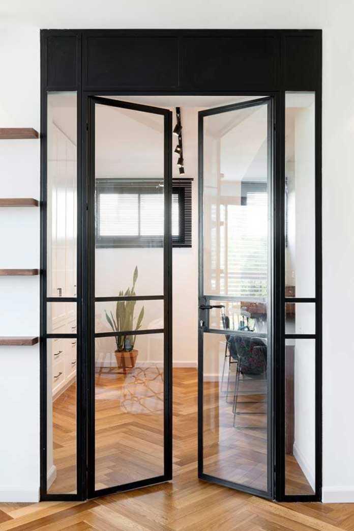 image22-17 | 25 межкомнатных стеклянных дверей в интерьере