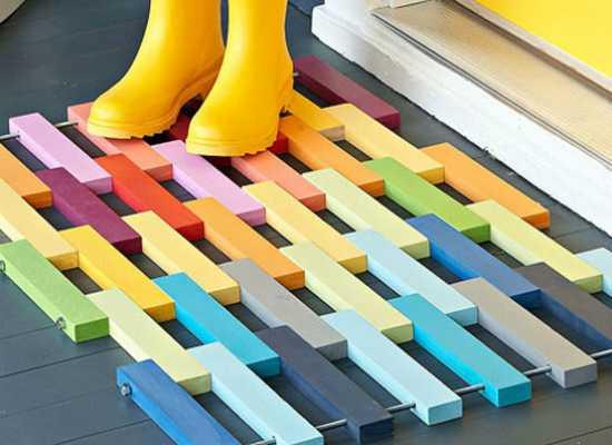 image4-77   Необычные идеи ковриков перед дверью