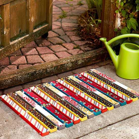 image6-73   Необычные идеи ковриков перед дверью