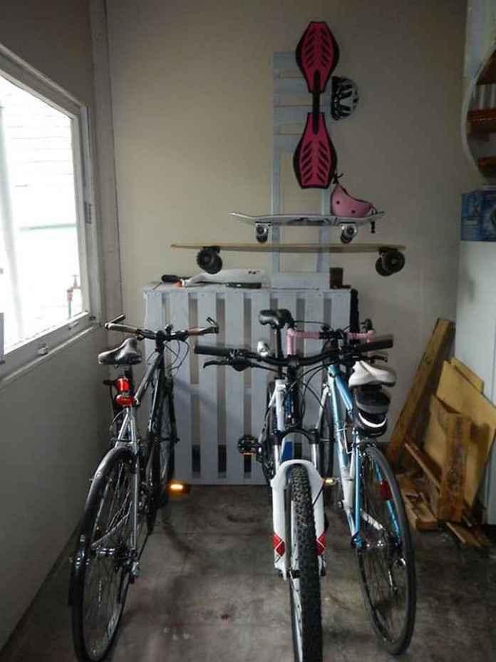 image8-26 | Как сделать стойку для велосипедов из поддонов