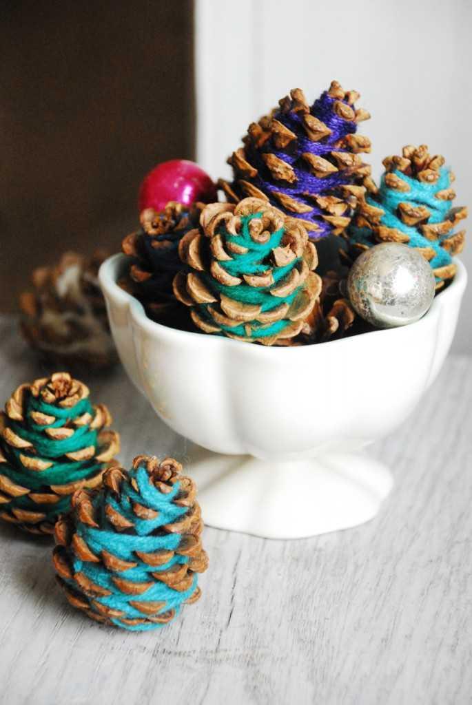 image17-1 | Праздничный декор из шишек своими руками