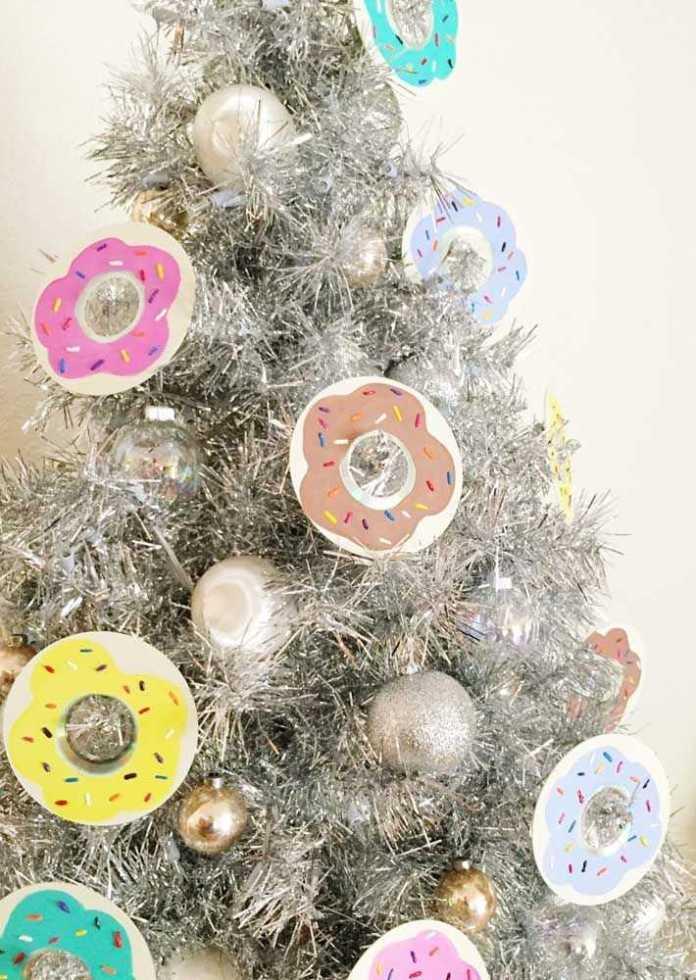 image18-7 | Новогодние и Рождественские украшения из компакт-дисков