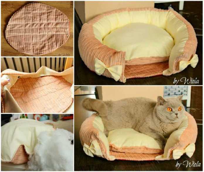 image19-2   Кровати для домашних животных из подручных материалов