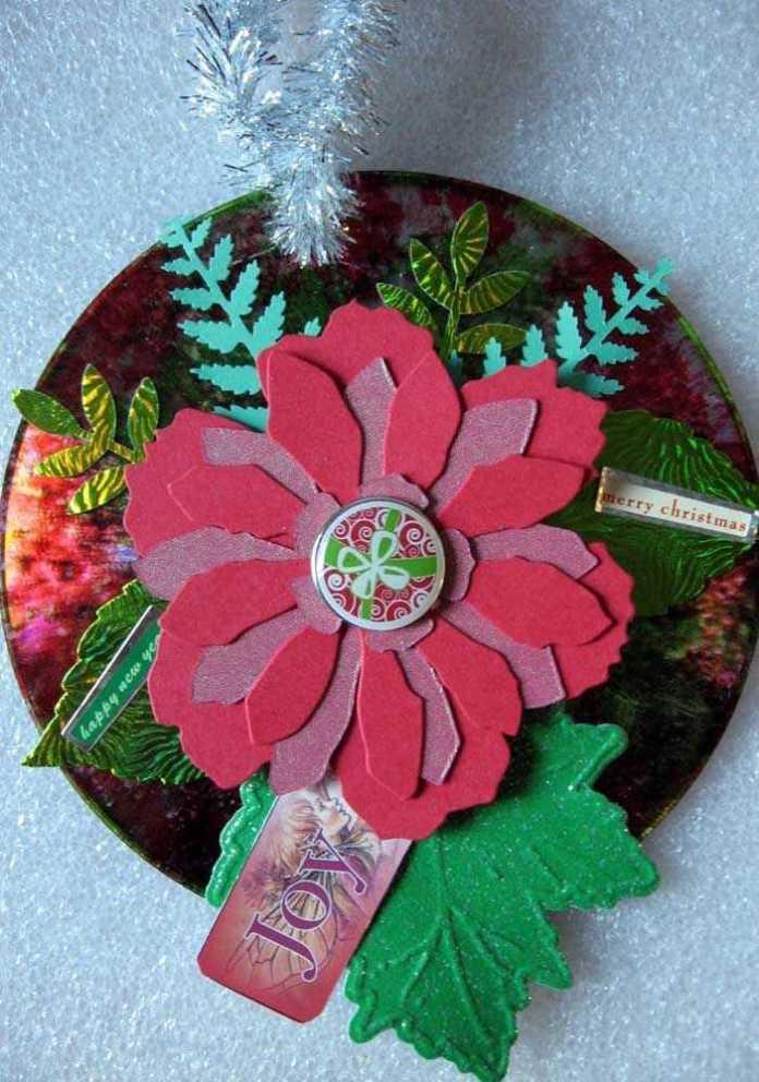 image21-5 | Новогодние и Рождественские украшения из компакт-дисков