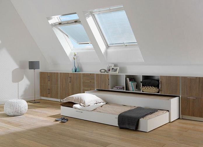 image23-6 | Идеи которые помогут спрятать гостевую кровать