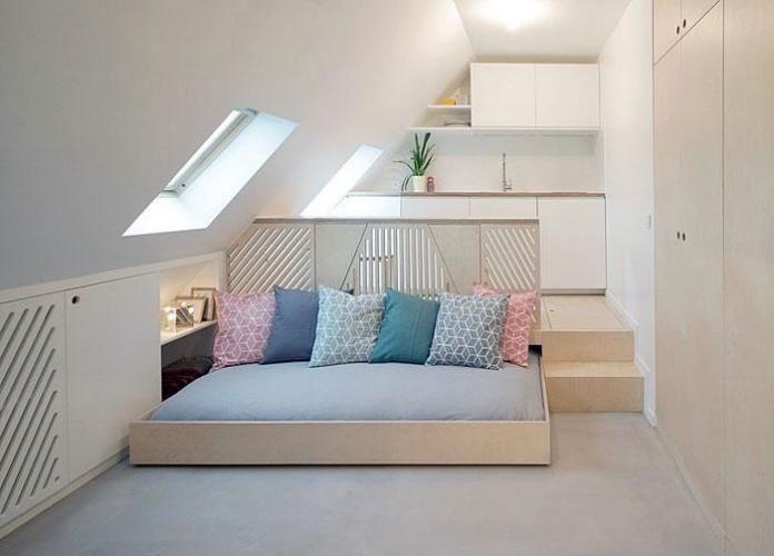 image28-2 | Идеи которые помогут спрятать гостевую кровать