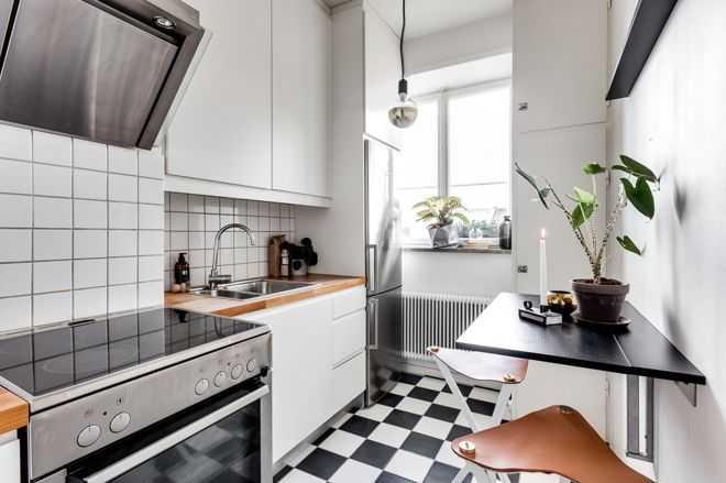 image3-15   9 примеров узких кухонь