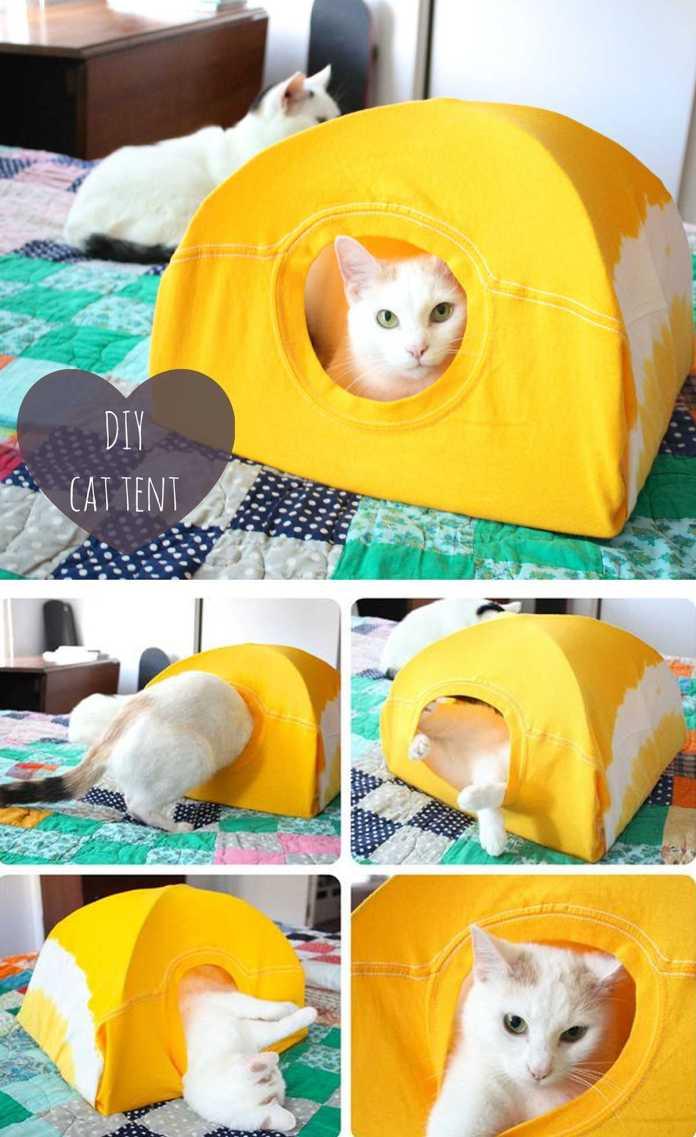 image6-16   Кровати для домашних животных из подручных материалов