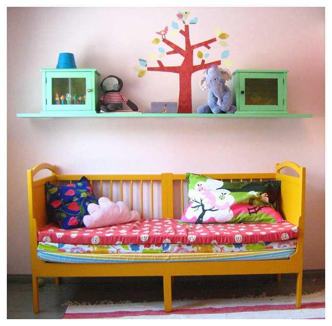 image7 | Что можно сделать из старой детской кроватки