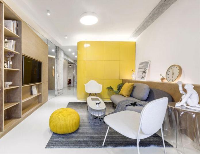 image1-4   Современный дизайн квартиры площадью 40 м²