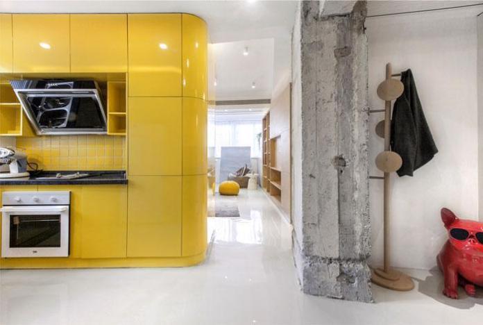 image4-4   Современный дизайн квартиры площадью 40 м²