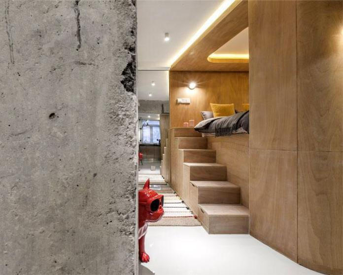 image6-3   Современный дизайн квартиры площадью 40 м²