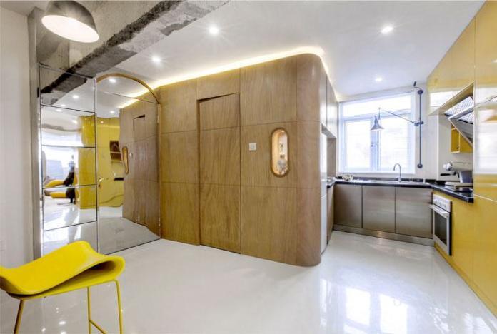 image8-3   Современный дизайн квартиры площадью 40 м²