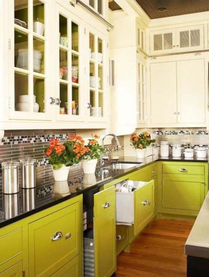 image12-2 | Идеи двухцветных шкафов для кухни