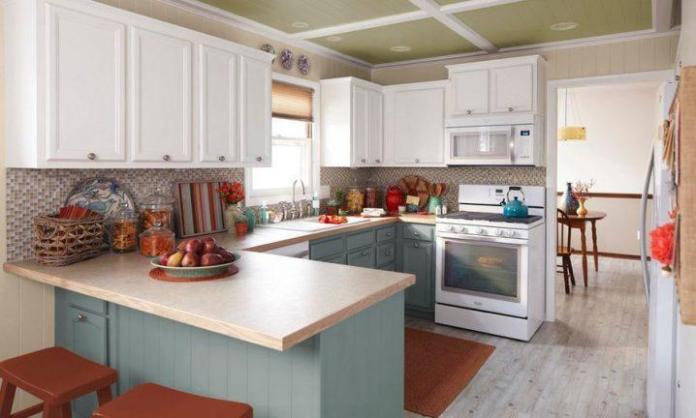 image8-5 | Идеи двухцветных шкафов для кухни