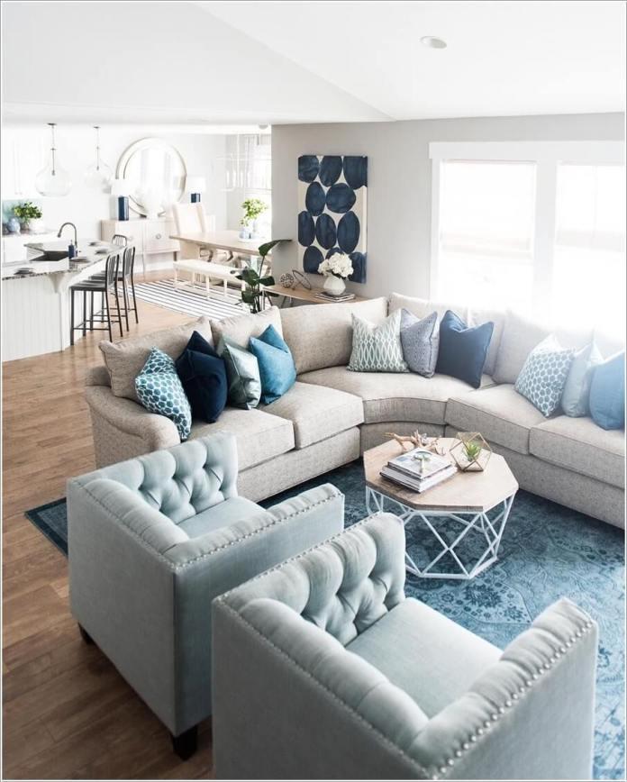 image1-22 | Как правильно обустроить гостиную с изогнутым диваном