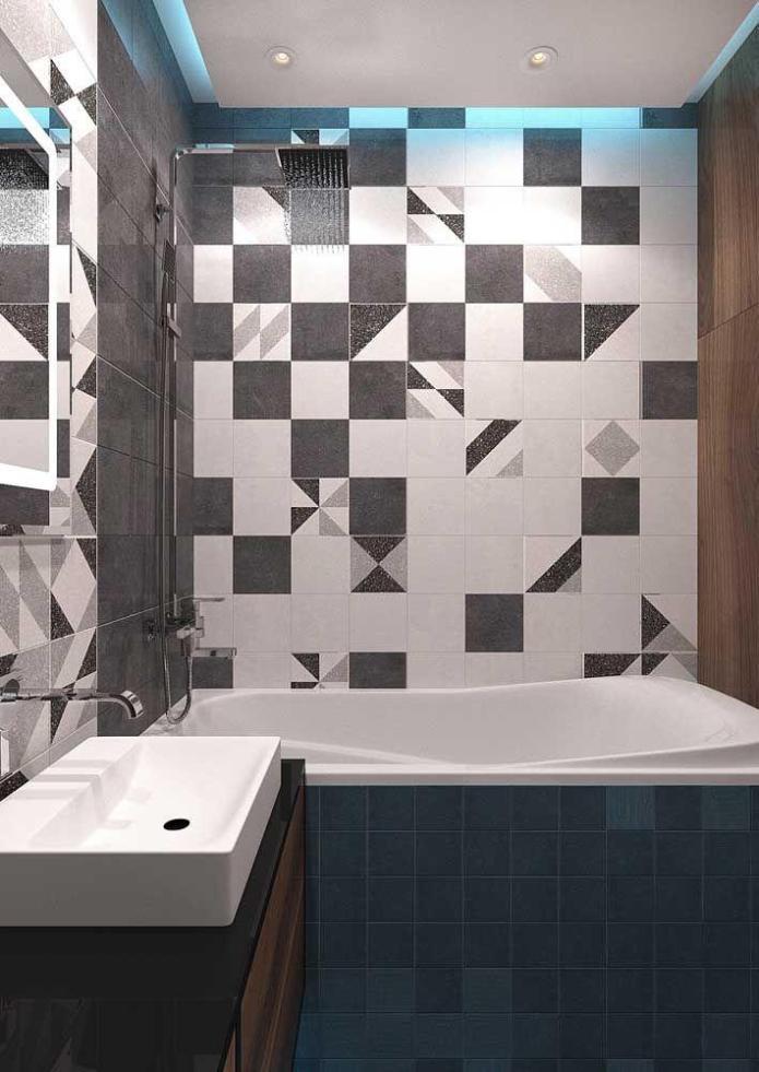 image26-7   Вдохновляющие идеи для маленьких ванных комнат