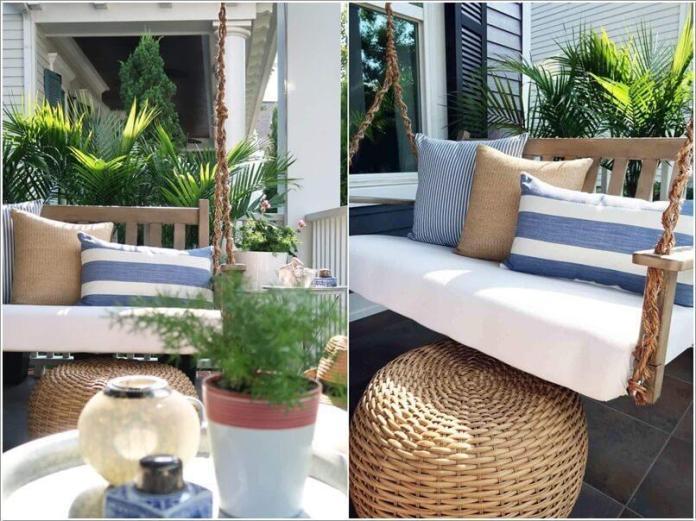 image2 | Как украсить дом плетеными пуфиками