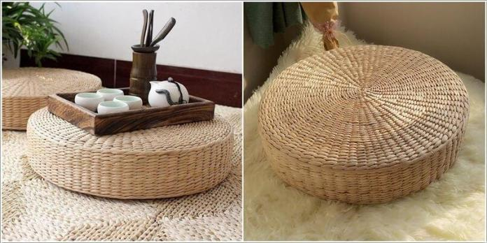 image4 | Как украсить дом плетеными пуфиками