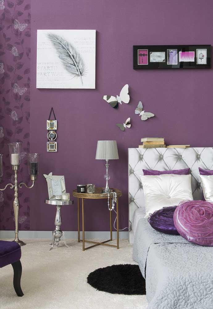 image42-4   Фиолетовый в интерьере: 60 идей, как и с чем сочетать