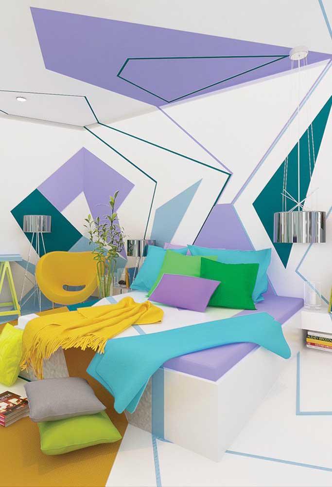 image46-3   Фиолетовый в интерьере: 60 идей, как и с чем сочетать