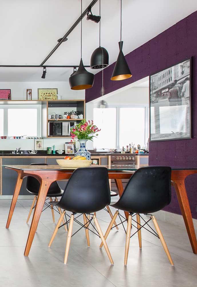 image48-3   Фиолетовый в интерьере: 60 идей, как и с чем сочетать