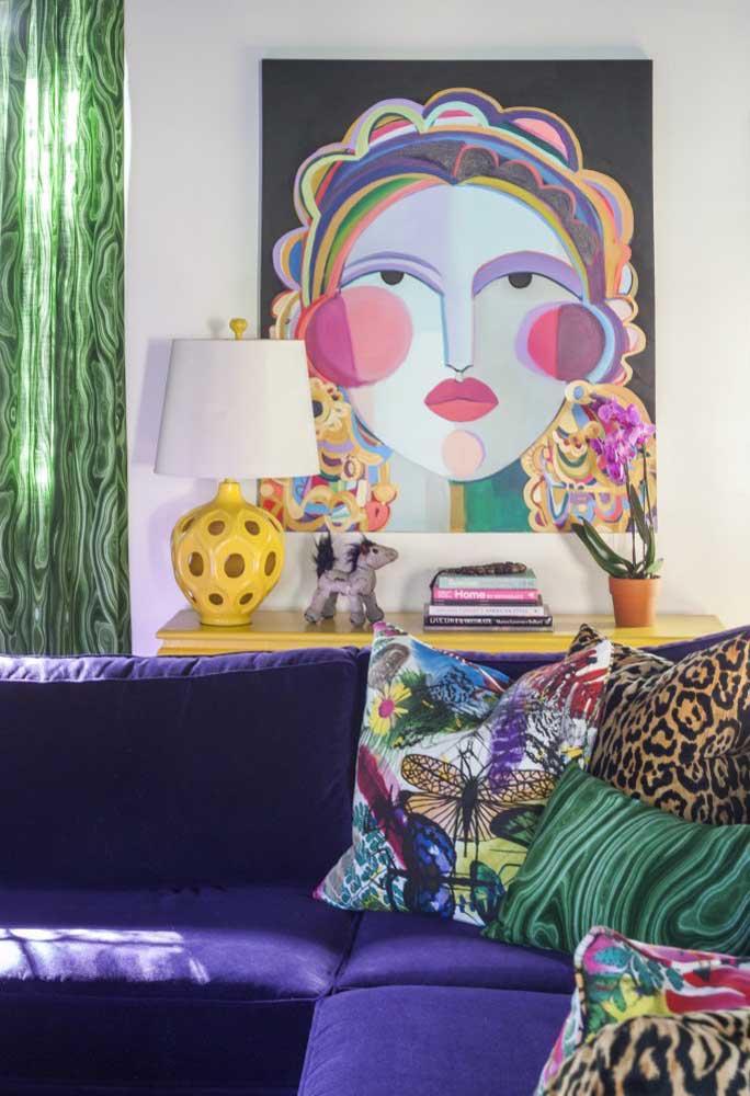 image50-3   Фиолетовый в интерьере: 60 идей, как и с чем сочетать