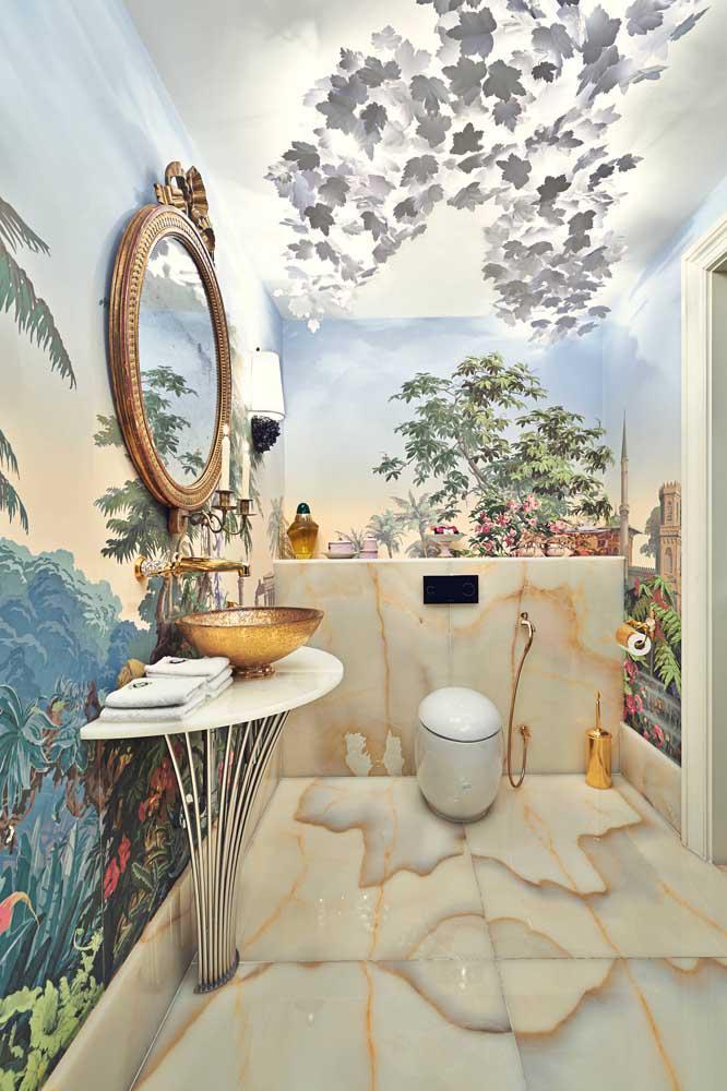 image54-4 | 60 идей обоев в туалет