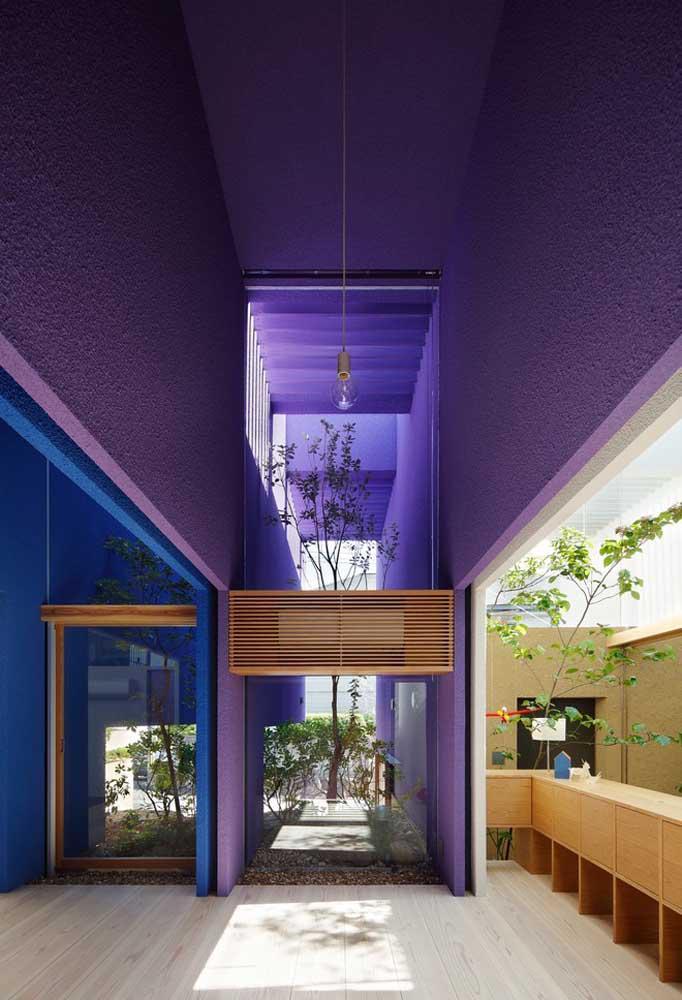 image6-14   Фиолетовый в интерьере: 60 идей, как и с чем сочетать