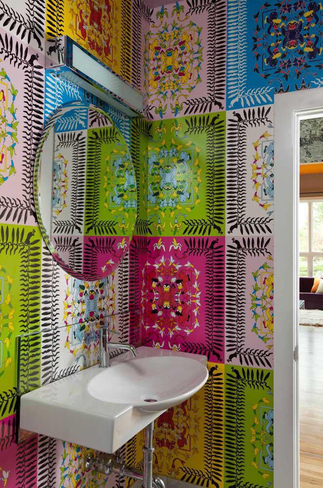 image62-1 | 60 идей обоев в туалет